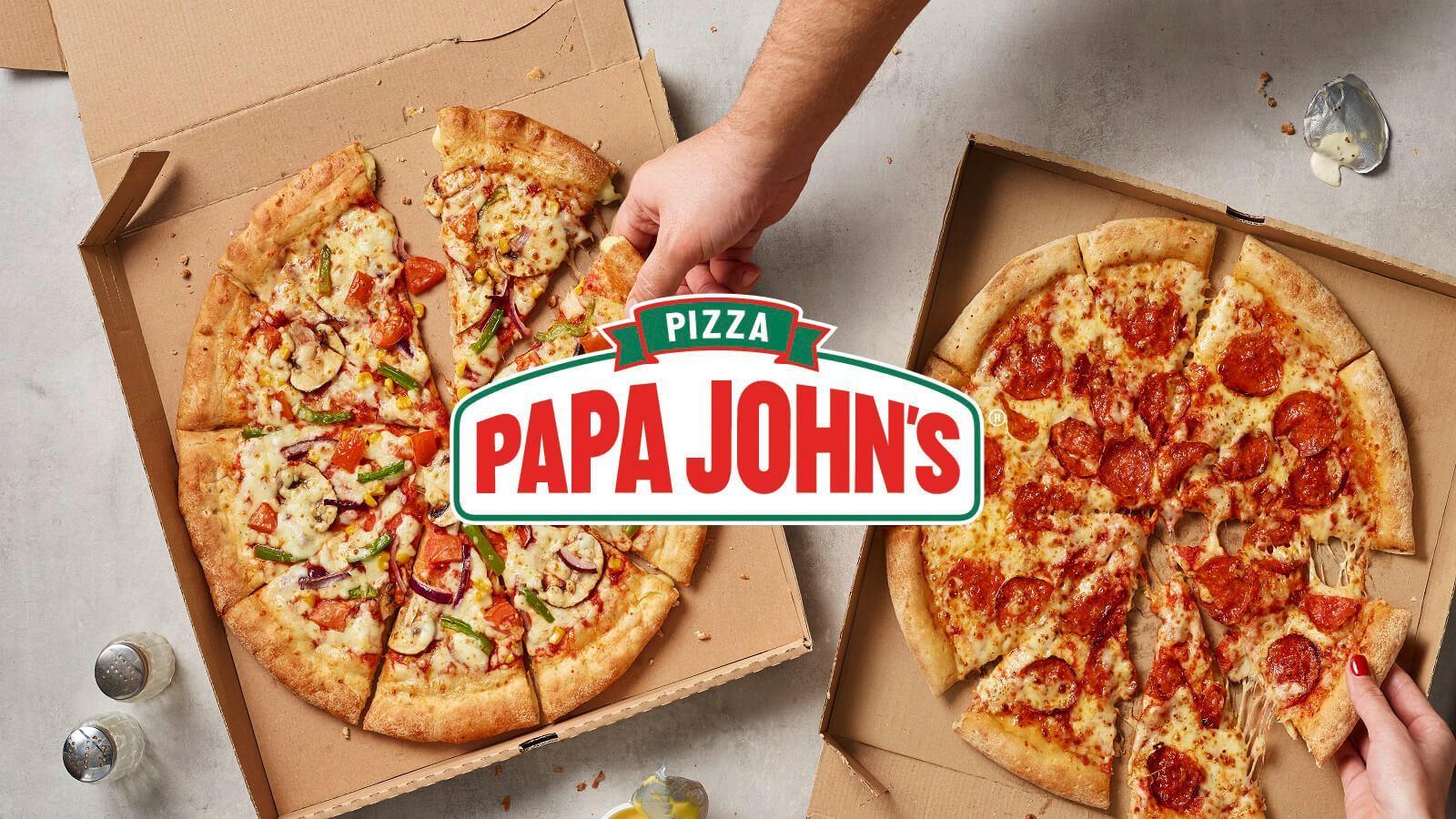 Papa John's 50% off using code