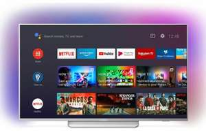 """Philips Ambilight 55PUS8204 55"""" Smart 4K UHD HDR Android TV +2 Year Warranty (Claim 10 FREE 4K Movies) - £474.05 with code @ Currys / eBay"""