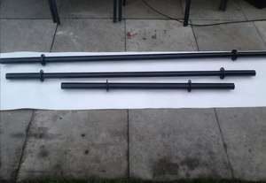 Olympic 7ft axle strongman fat grip 6mm wall from ebay/cheshire-strongman-supply for £50