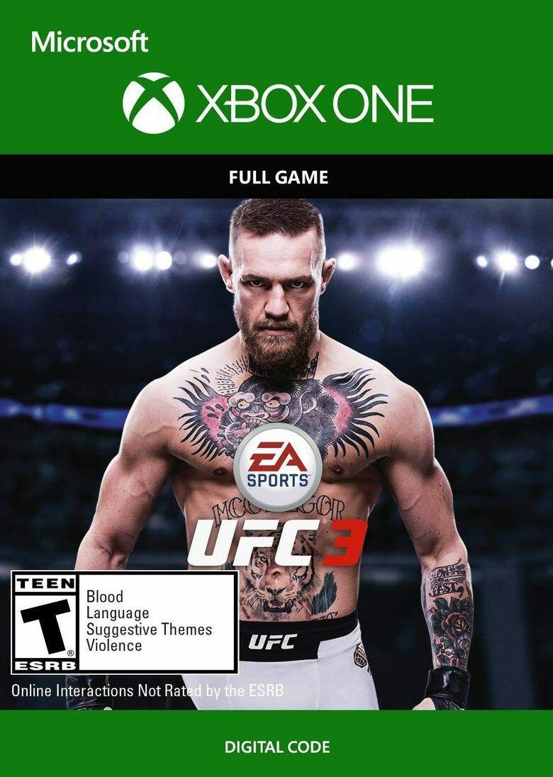 EA Sports UFC 3 - Xbox One - Xbox Live Key - United States £5.53 @ Eneba / Gamepilot