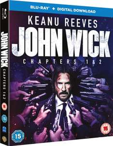 John wick chapters 1&2 blu ray+digital download - £7.49 delivered @ theentertainmentstore / ebay
