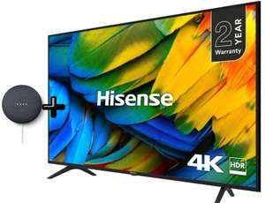 "Hisense H55B7100UK 55"" 4K Ultra HD HDR Smart TV with Freeview Play (2 Year Warranty) + Free Google Mini - £329 delivered @ Box"