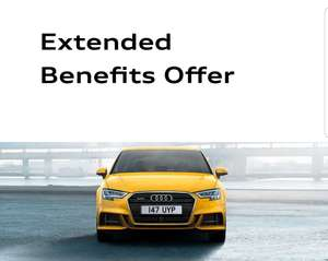Extended Benefits Offer @ Audi Store