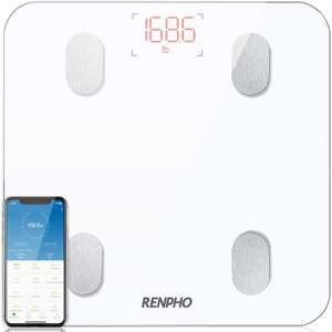 White Bluetooth Body Fat Scale £19.99 Prime / £24.48 Non Prime Sold by Energia Team and Fulfilled by Amazon