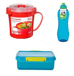 Various Sistema products reduced @ Asda. E.g Sistema Red Klip-it Microwaveable Soup Mug 656ml now £2.50. More in the OP