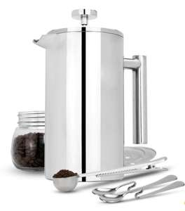 French Press Cafetiere Set M&W 1000ml £15.99 at Roov