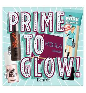 Benefit Prime to Glow set - £27.62 with discount applied at checkout + free Click and Collect @ Boots Shop