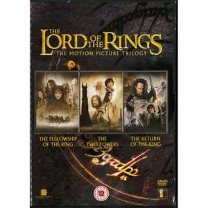 The Lord of the Rings Trilogy (Theatrical Edition Box Set) [DVD] used - £2.96 delivered @ thecotswoldlibrary / eBay