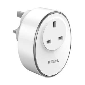 D-Link mydlink Wi-Fi Smart Plug Compatible with Alexa and Google Home, £9.99 at MyMemory