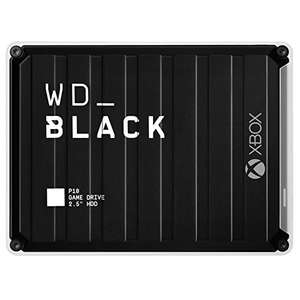 WD_BLACK 5 TB P10 Game Drive for Xbox One + free 2-months of Xbox GPU - £108.99 //12TB- D10- £212.99 with 3 months GPU @ Amazon