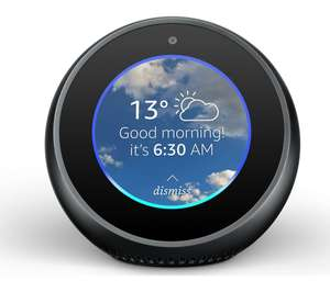 AMAZON Echo Spot - Black [very limited availability] - only C&C at Currys for £47.97