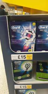 Oral B 680 Pro 3d Pink or Black Edition instore at Tesco for £15
