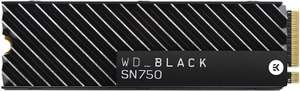 Western Digital_Black SN750 1TB NVMe Internal Gaming SSD with Heatsink at Amazon for £153.99