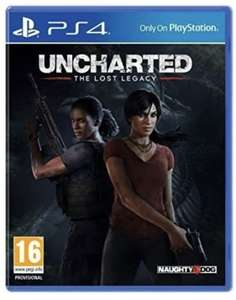 Uncharted: The Lost Legacy [PS4] £9.75 at Amazon Prime / £12.74 Non Prime