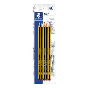 Staedtler Noris HB Pencils, Pack of 5 - £1.50 Prime / £5.99 Non Prime @ Amazon