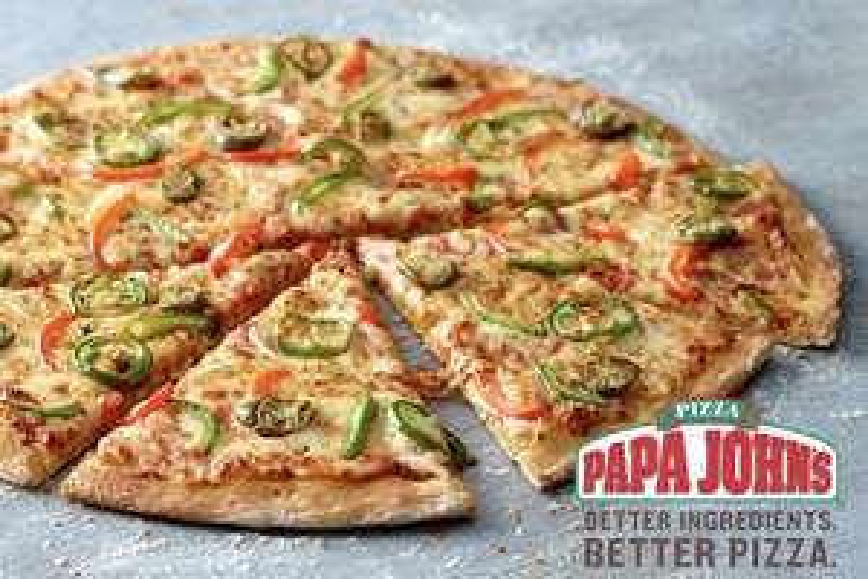 Papa John's - £10 off a £25 spend