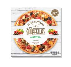 Goodfella's Romano Chargrilled Vegetable & Pesto Pizza 403g Now 75p Fulton Foods Leeds
