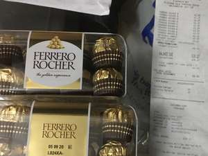 16 pack Ferrero Rocher £2.25 instore at Superdrug Walthamstow