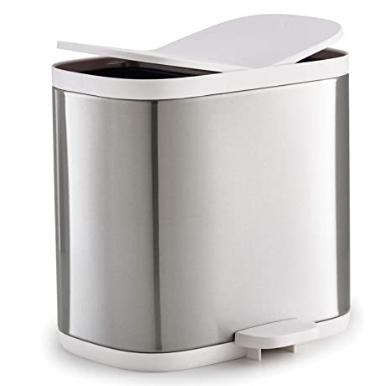 Joseph Joseph Split Steel Waste & Recycling Bin, Stainless, 6 Litre £23.99 @ Amazon