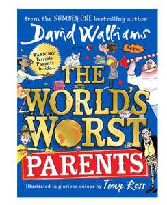David Walliams The World's Worst Parents Hardcover - £6.29 In Costco Warehouse Tomorrow