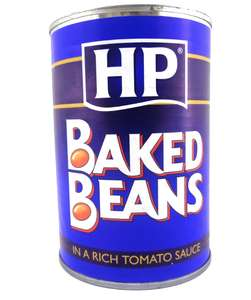 HP Baked Beans (produced by Heinz) 415g £0.39 @ One below