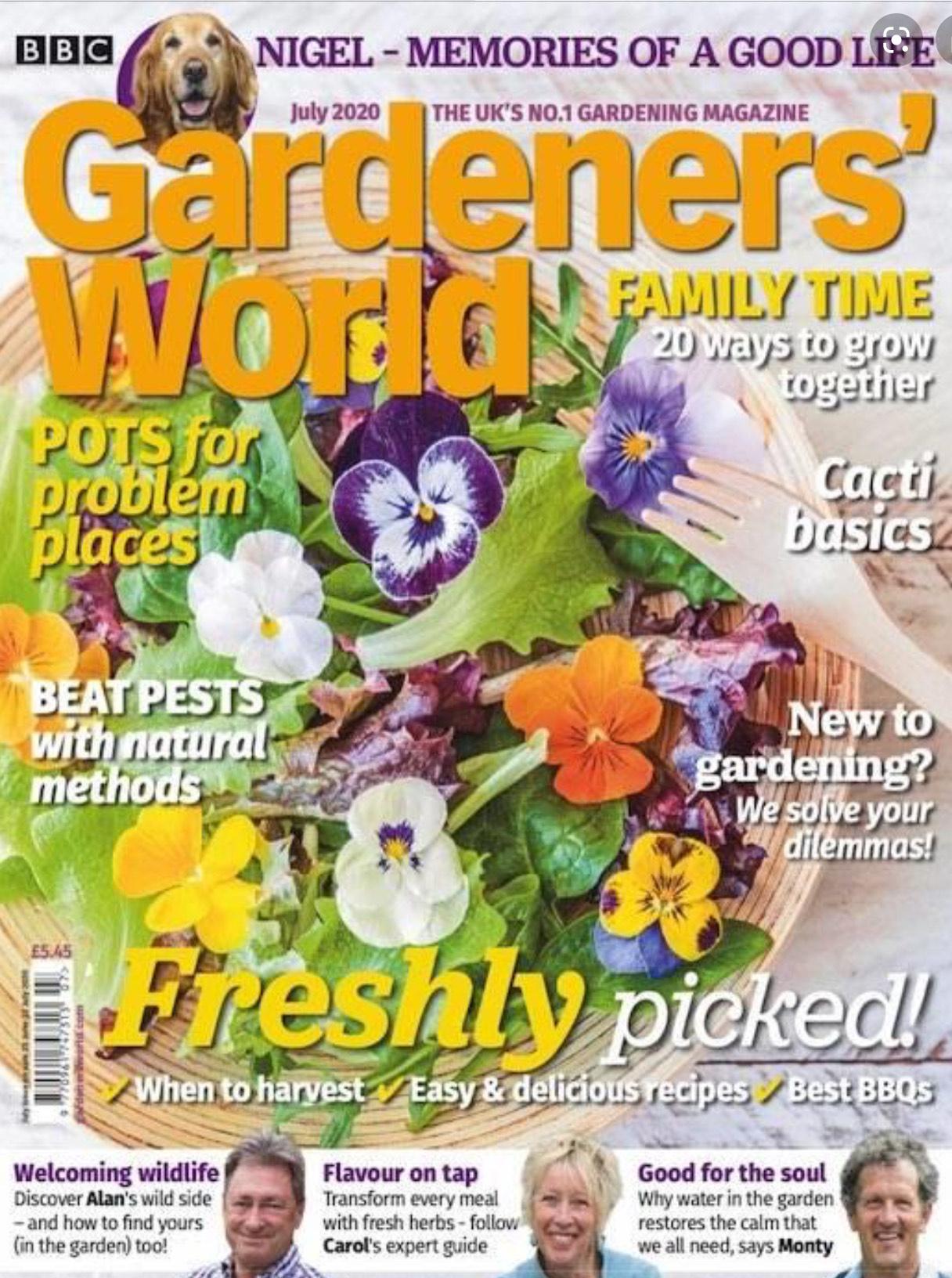 6 months of Gardener's World for £9.99 @ Buysubscriptions