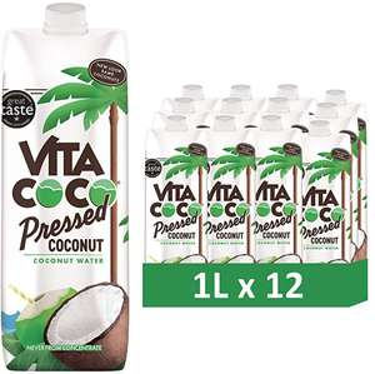 Vita Coco - Pressed Coconut Water (1L x 12) £20.88 @ Amazon UK