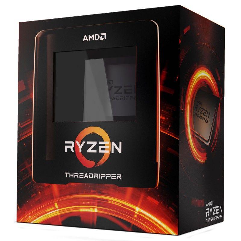 Ryzen Threadripper 3970X (32C/64T, 128 MB Cache, 4.5 GHz Boost)