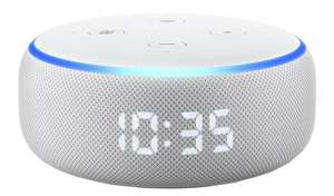 Echo Dot (3rd Generation 2019) with Clock for £29.99 @ Argos (free click and collect)