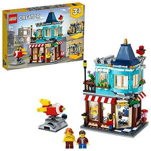 Lego 31105 Creator 3-in-1 Townhouse Toy Store, Cake Shop, Florist Building Set, with Working Rocket Ride - £26.99 @ Amazon