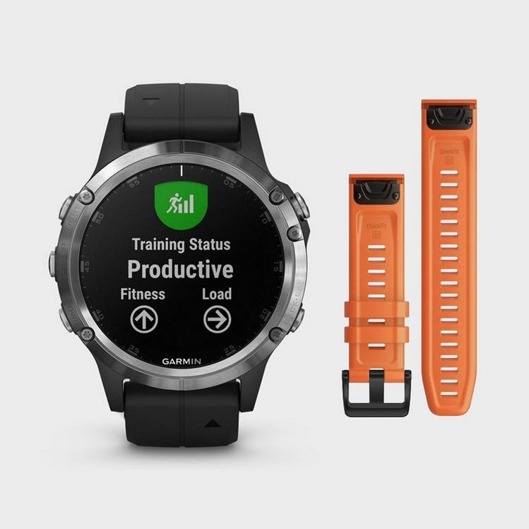 GARMINfenix® 5 Plus Multi-Sport GPS Watch + extra QuickFit band £369 at Blacks