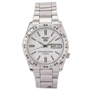 Seiko Sports 5 Automatic 21 Jewels Stainless Steel Bracelet Men's Watch, £89 with code at H.Samuel