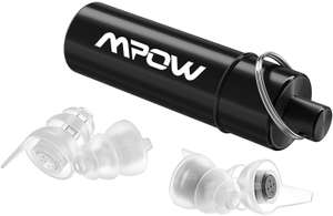 2 Pairs of Reusable Mpow High Fidelity Earplugs - £7.99 delivered for prime (+£4.49 others) Sold by HBH LTD and Fulfilled by Amazon.