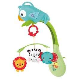 Fisher Price Rainforest Friends 3-in-1 Musical Mobile £15.99 with free Delivery From Bargain Max