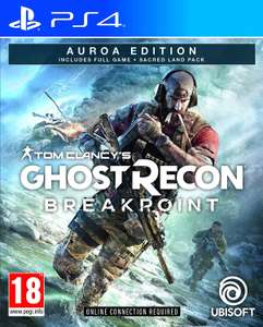 Tom Clancy's Ghost Recon: Breakpoint (Auroa Deluxe Edition) - PS4 for £12.50 delivered @ CoolShop