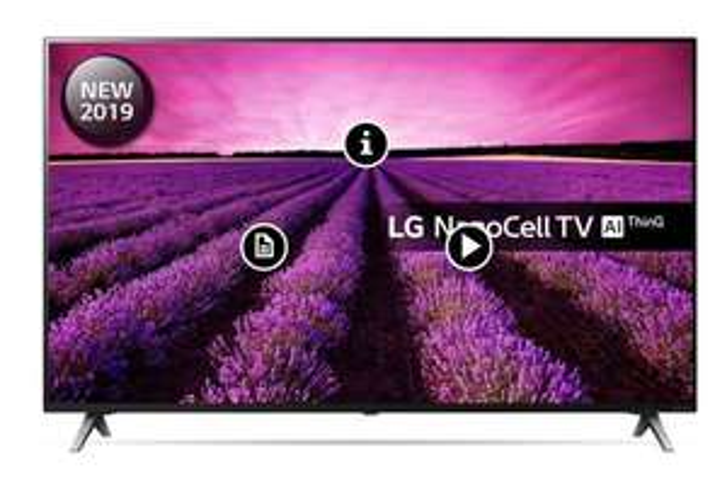 "LG 49SM8500PLA 49"" Smart 4K HDR UHD NanoCell TV £474.00@ Hughes"