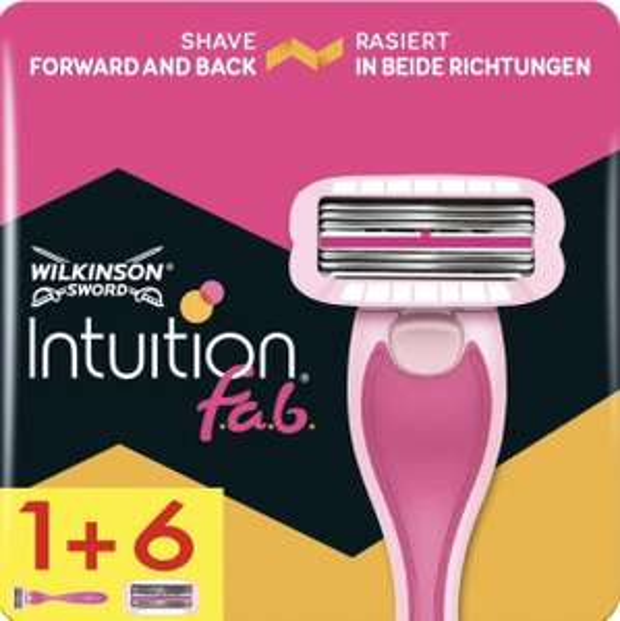 Intuition FAB Women's Razor & 6 Blades - £8.49 & Free Delivery @ Wilkinson Sword