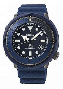 Seiko Watch Prospex Street Series Solar Diver Blue £171.20 at AMJ Watches with code