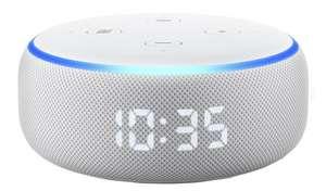 Echo Dot with Clock - £29.99 delivered @ Very