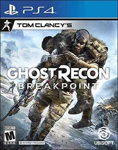 Ghost Recon Breakpoint [PS4 / Xbox One] - £11.73 Delivered from Amazon US inc. shipping and import fees
