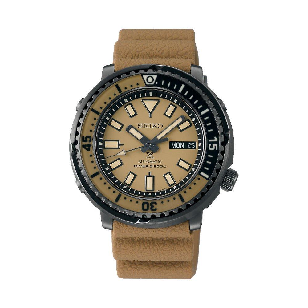 Seiko Urban Tuna (Khaki Beige) Limited Edition watch SPRE29K1 - £408 del at AMJ Watches