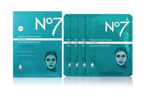 3 packs of no7 protect & perfect masks - £20 + free Click and Collect / +£3.50 delivery @ Boots