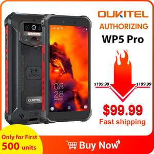 Oukitel WP5 Pro, waterproof, rugged, Android 10 smartphone. Release offer - £82.38 delivered @ AliExpress OUKITEL Global Store