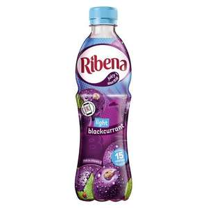 Ribena Light Blackcurrant 500ml (BBE end of July 2020) - 20p in-store @ Quality Save, Prestwich