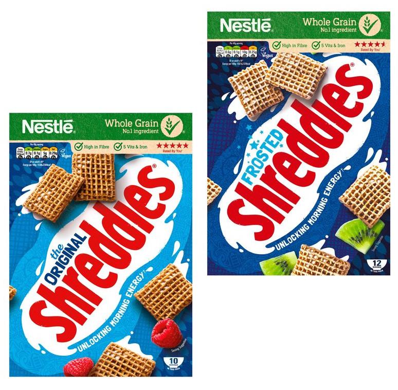 Half Price Nestle Shreddies Original Cereal 415g - £1.05 or Nestle Shreddies Frosted Cereal 500g - £1.40 @ Tesco