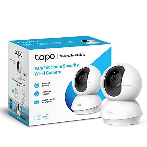 TP-Link Tapo Pan/Tilt Smart Security Camera, Indoor CCTV, 360° Rotational View - £24.99 @ Amazon
