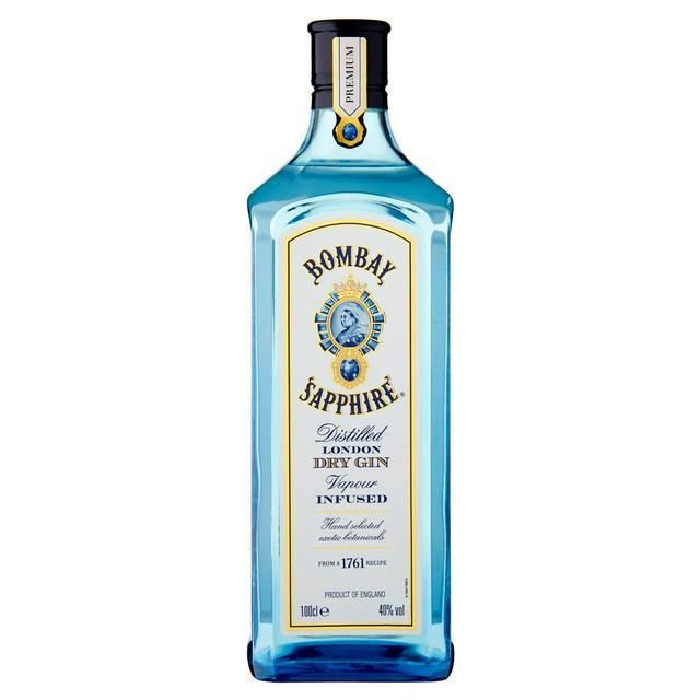 Bombay Sapphire Gin 1L £21 @ Sainsburys
