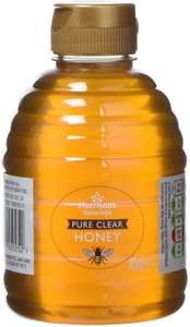 Morrisons Pure Clear Honey 454g each (Pack of 6) £13.80 at Amazon (£13.11 with S&S / + £4.49 NP) @ Amazon