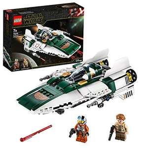 LEGO 75248 Star Wars Resistance A-Wing Starfighter Battle Starship Building Set - £17.97 Prime / £22.46 non Prime at Amazon