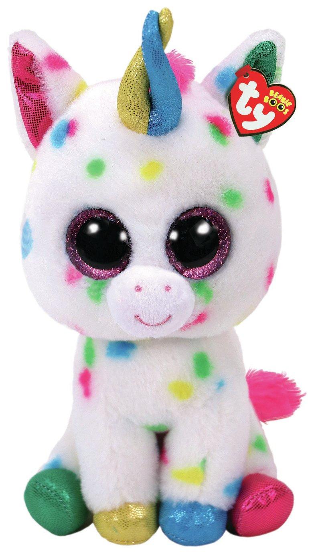 "TY Beanie Boos Harmonie the Unicorn - 15"" / 40cm Tall £6.25 Argos"